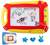pidien Magnetic Doodle Pad Travel Size Drawing Board for Kids Toddlers Erasable Magnet Board Colorful Sketch Drawing Pad Boys Girls Age of 3 4 5 6