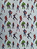 Little johnny Marvel Avengers Assemble Spiderman Hulk