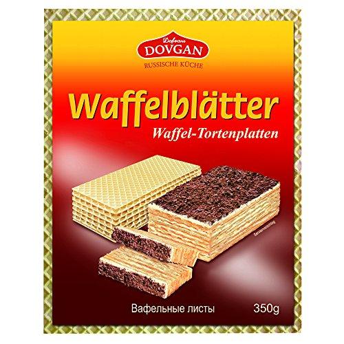 Dovgan Waffelblätter, 9er Pack (9 x 350 g)
