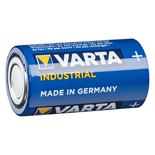 Panasonic RF-D10EG-K Digitalradio (DAB+/UKW Tuner, Netz- und Batteriebetrieb) schwarz & VARTA Industrial Batterie C Baby Alkaline Batterien LR14 - 20er Pack, Made in Germany