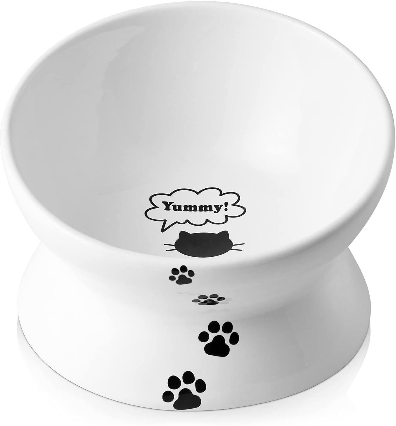 Y YHY Cat Bowl Anti Max 53% OFF free Vomiting Tilted Elev Food Bowls Raised