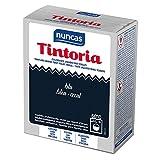 Nuncas Italia S.P.A. Cotone Lino, Seta, Viscosa Blu - Fissatore 100 gr - Colorante 100 ml