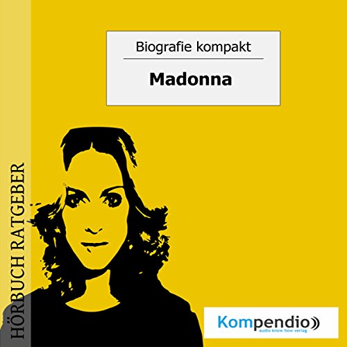 Madonna audiobook cover art