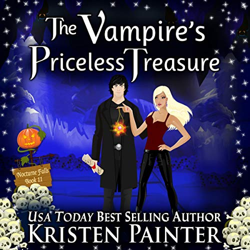 The Vampire's Priceless Treasure audiobook cover art