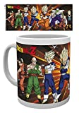 GB Eye, Dragon Ball Z, Z Fighters, Taza