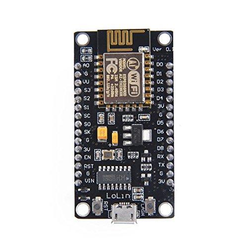 ARCELI ESP8266 Módulo inalámbrico en Serie CH340 NodeMcu V3 Lua WiFi Internet de Las Cosas Nueva versión Tarjeta de Desarrollo EK1677 Compatible con Arduino