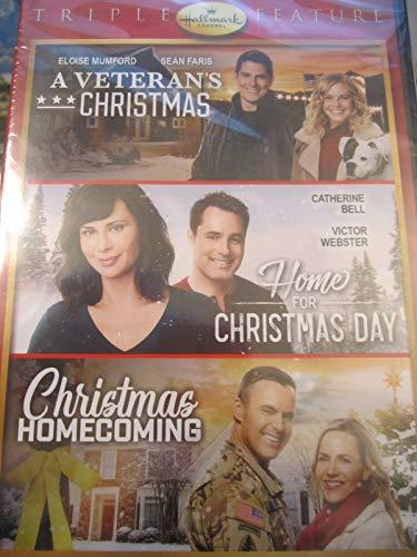 Hallmark Holiday Collection Triple Feature: A Veteran's Christmas/HomeFor Christmas Day/Christmas Homecoming