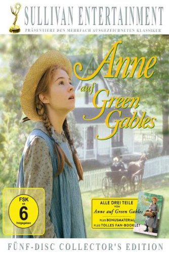 Anne auf Green Gables, Teil 1-3 (Collector's Edition, 5 Discs)