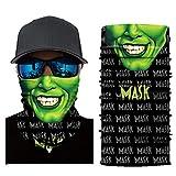 FRAUIT Halstuch Unisex Lustig Kopftuch Damen und Herren Gesichtsmaske 3D Tuchmasken Outdoortuch,...