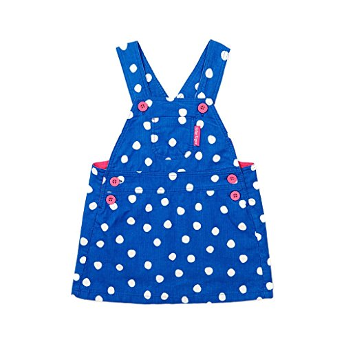 Toby Tiger Blue Dot Salopette Robe - Bleu - XXXL