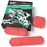 ADV Tennis Vibration Dampener - Set of 3 - Ultimate Shock Absorbers for Racket and Strings - Premium Quality, Durable,...