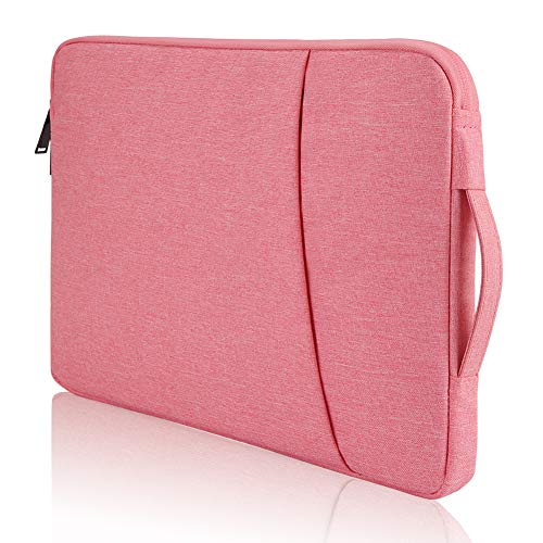 Bevegekos 14 Inch Laptop Case, Water Resistant, Designed for School Kids, College Students and Office Workers (Girls Pink)