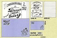 FEEL LETTER / ディズニー A5 レターセット (03706_ドナルド&デイジー)