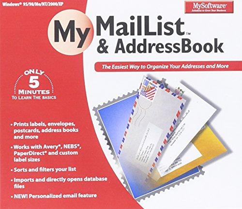 MySoftware Company My MailList & AddressBook