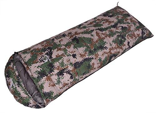 Sac de couchage de camouflage en plein air Camping Leisure Enveloppe Down Cold Keep Warm 600-2500g , 1 , 1500g