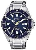 CITIZEN Herren-Taucheruhr Titan ECO-Drive BN0201-88L