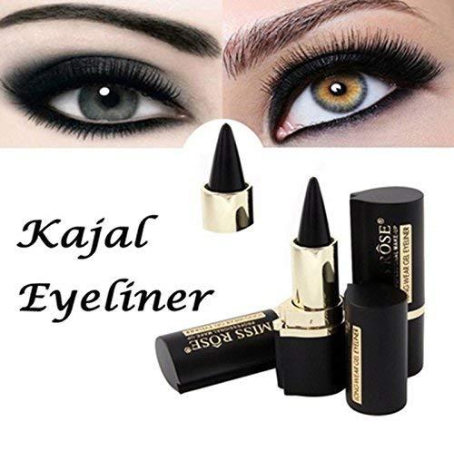 Luccase Schwarz Eyeliner Feuchtigkeitscreme Wasserdicht Makeup Eyes Pencil Longwear Schwarz Tube Form Gel Eyeliner Sticker Langlebig Eyeliner