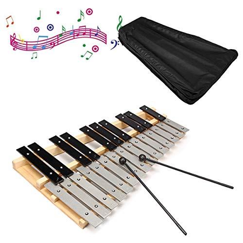 EsportsMJJ 25 Nota Glockenspiel xilófono instrumentos musicales educativos Mallet percusión Orff