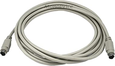 Monoprice10ft PS/2 MDIN-6 Male to Male Cable 100094