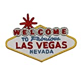 Welcome to Fabulous Las Vegas Patch Landmark Sign Travel Site Iron On Applique