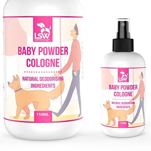 LSW Pet Design Deodorizing Pet Cologne Spray - Baby Powder Fragrance - Pet...