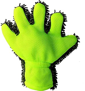 Car Wash Mitt Car Wash Gloves Finger Gloves Ultra Soft Cleaning Tools Eco-Friendly Material Car Wash Gloves Easy to Use