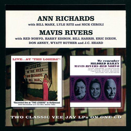 Ann Richards, Mavis Rivers, Red Norvo & The Bill Marx Trio