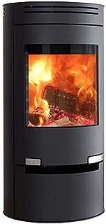 Estufa de leña Aduro 1 - 1 negro 6 kW horno de leña