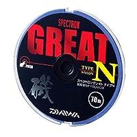 ダイワ(Daiwa) ハリス スペクトロン グレイト タイプ N ナイロン 70m 2号 クリアー