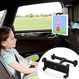 Wicked Chili Tablet Halterung Auto für Kopfstützen, kompatibel mit iPad, Switch, Samsung Tab, Media Pad Tablethalterung KFZ iPad Autohalterung (14-28cm, 6-13 Zoll, vibrationsfrei, Hoch-Querformat)