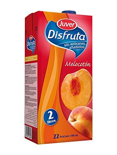 Juver Melocotón Bebida Refrescante sin Azúcar, 2L