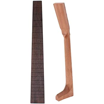 Mahogany Gitarrenhals Mahagoni Hals Neck Griffbrett Für Akustische Folk-Gitarre