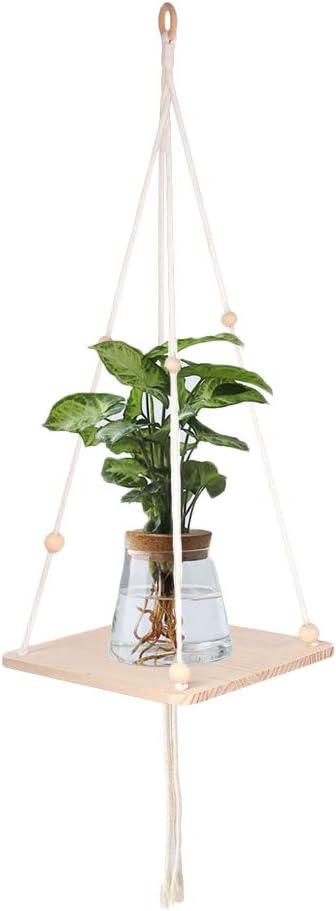 Popular ANMINY Macrame Plant Hangers Shelf Flower Planter Indoor Max 41% OFF Po Rack