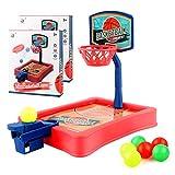 Edaick 2Pack Basketball Shooting Game Set,Tabletop Finger Mini Basketball Game Desktop Tabletop Basketball Shooting Game for Kids and Adults