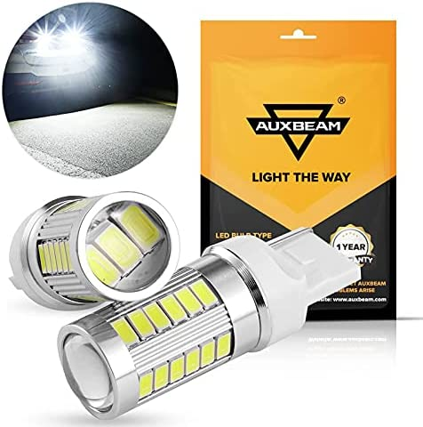Back Up Light Auxbeam Extremely Bright T20 7440 W21W LED Bulbs ...