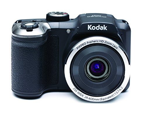 "Kodak PIXPRO AZ252 Bridge camera 16MP 1/2.3"" CCD 4608 x 3456pixels Black - digital cameras (16 MP, 4608 x 3456 pixels, CCD, 25x, Video recording, Black)"