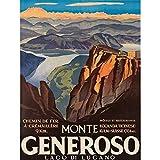 Wee Blue Coo Travel Tourism Mount Generoso Lake Lugano