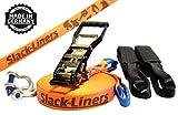 Slack-Liners Set, 25 m lang, 5 cm breit