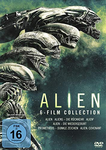 Alien - 6 Filme Collection [6 DVDs]