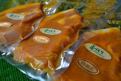 お肉屋さんの絶品 豚ロース 味噌漬け 3枚セット【 国産 豚肉 ロース ★】