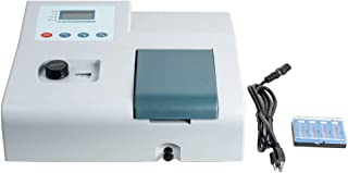 Funwill Visible Spectrophotometer, 6nm 721 LDC Digital Lab Visible Spectrophotometer, 350-1020nm Wavelength Range Spectrop...