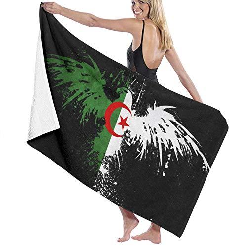 Algérie Serviettes de plage élastiques à séchage rapide super absorbantes pour la piscine et le spa 80 x 130 cm