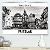 Ein Blick auf Fritzlar (Premium, hochwertiger DIN A2 Wandkalender 2022, Kunstdruck in Hochglanz): Ein ungewohnter Blick in harten Schwarz-Weiss-Bildern auf Fritzlar (Monatskalender, 14 Seiten )