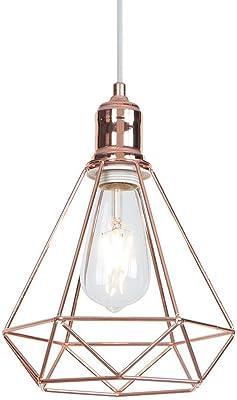 INNOTECK - Lámpara de techo, colgante, estilo vintage: Amazon.es ...