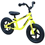 Huffy Lil Cruzer Balance Bike, Yellow, 12-inch
