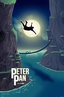 Pyramid America Peter Pan JM Barrie Moon Cool Wall Decor Art Print Poster 24x36