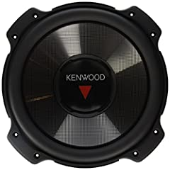 """Bundle Includes You will receive 1 PAIR a total of two speakers 2 X Kenwood KFC-W3016PS 12"""" 4 Ohm Performance Series Car Subwoofers with 2000 Watt Peak / 400 Watt RMS 12"""" Performance Series Car Subwoofer - Polypropylene Cone Woofer with Diamond Array..."""