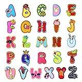 26 coloridas letras del alfabeto A-ZLovely Animal parche para planchar vaqueros...