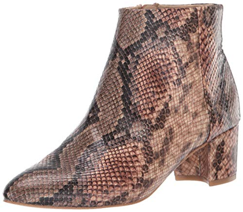 Katy Perry Women's The Rich Ankle Boot, Natural Multi, 6 M Medium US