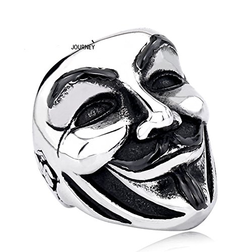 Anillo Sello V para Vendetta Anonymous (US 8= 57FR)